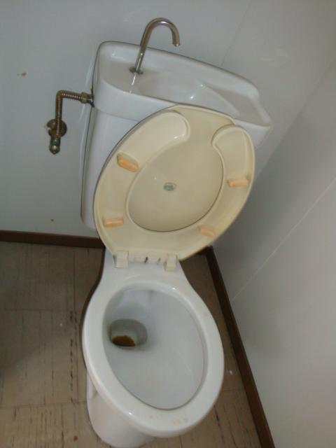 コーポ犬飼 201号室のトイレ
