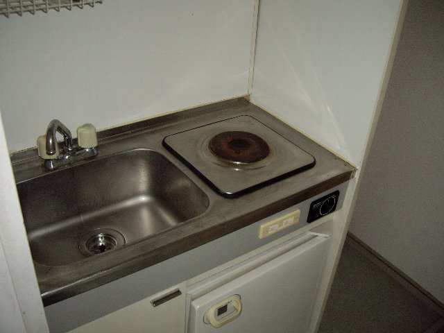 ライフピアグラフティー 102号室のキッチン