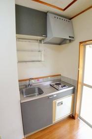 アルシオン 207号室のキッチン