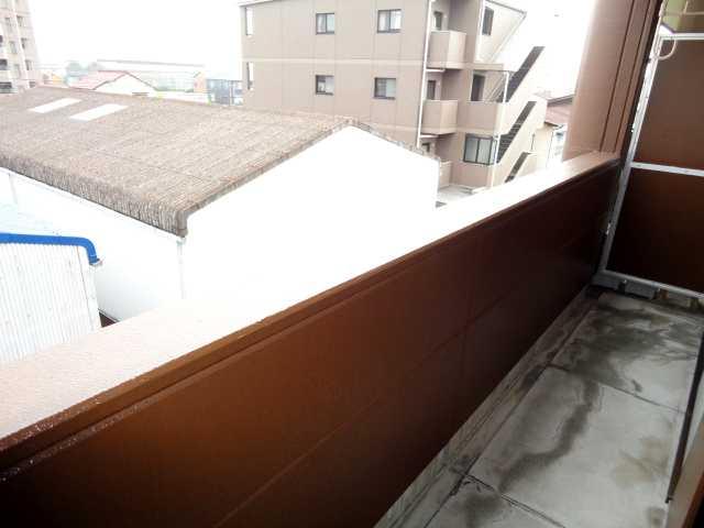 フローレンス豊大 00303号室のバルコニー
