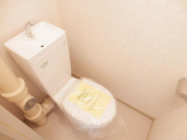 北中ハイツ 00105号室のトイレ