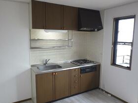 サンライズドメスティ 103号室のキッチン