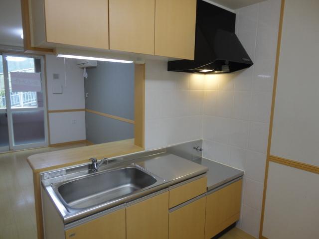 シェルティー万場 101号室のキッチン