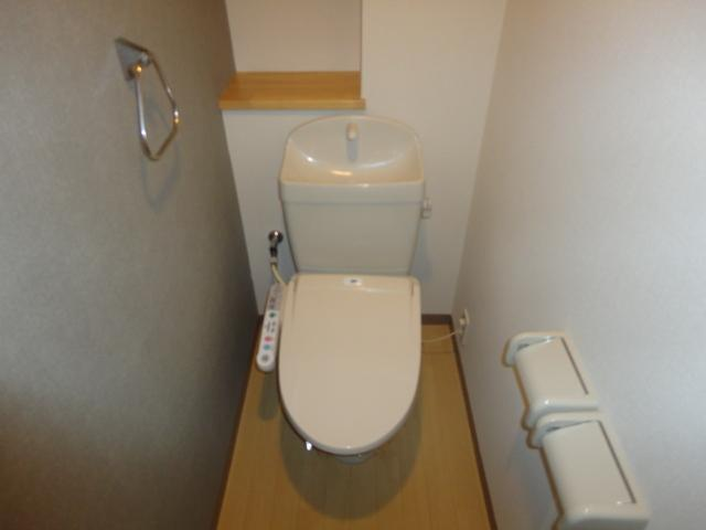 シェルティー万場 101号室のトイレ