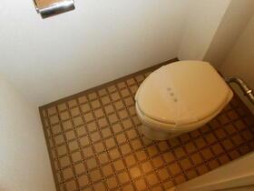 メゾン新井 202号室のトイレ