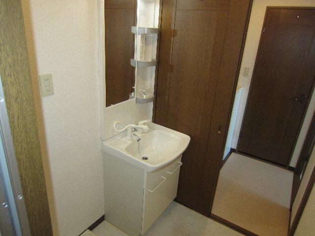 AAB一本松 1C号室の洗面所