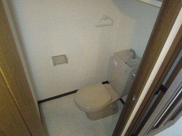 AAB一本松 1C号室のトイレ