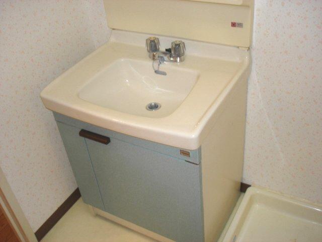 イエローハウス栄 501号室の洗面所