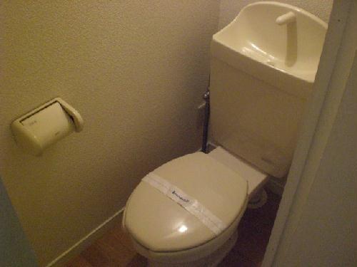レオパレス甚目寺 203号室のトイレ