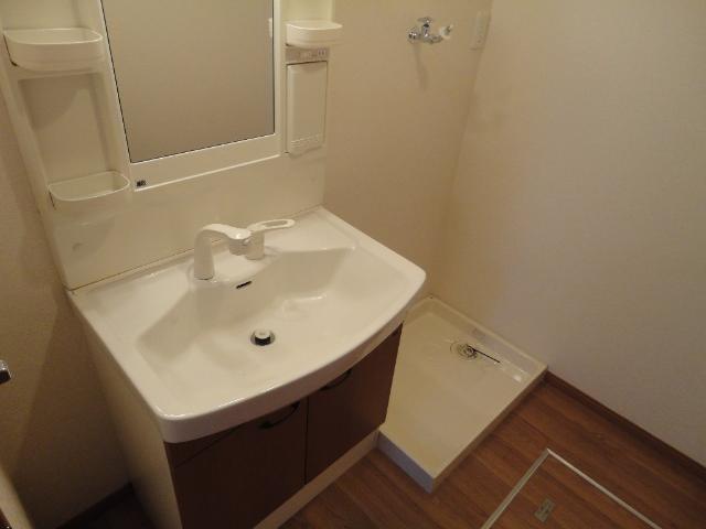 パストラル 201号室の洗面所