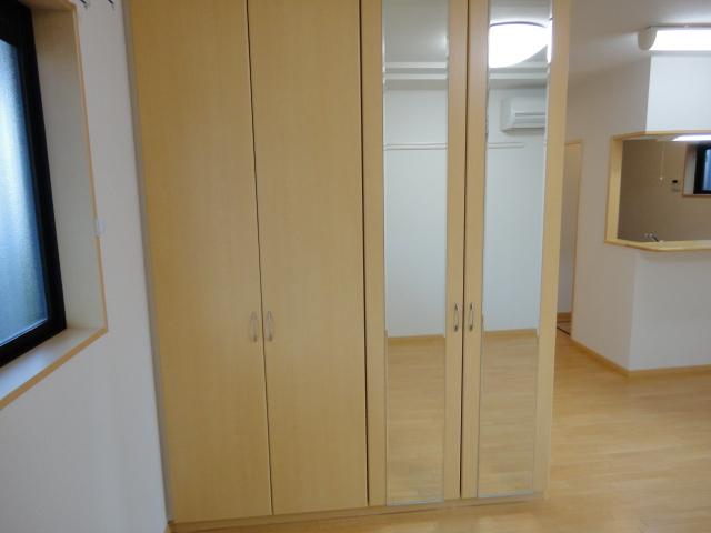 アンジェロ 105号室のベッドルーム