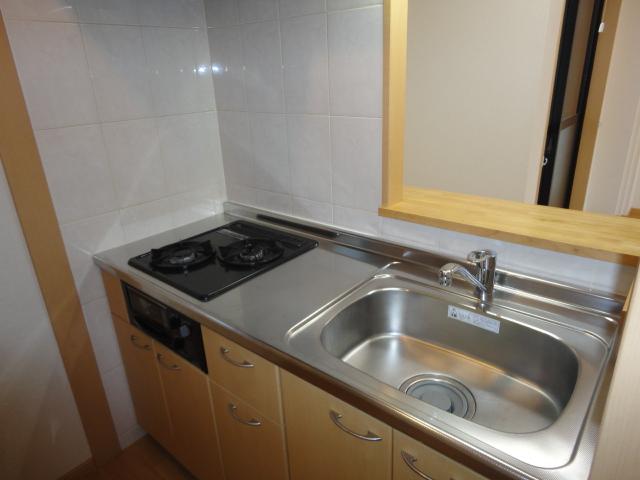 アンジェロ 105号室のキッチン