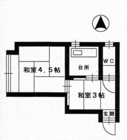 大須丸勝ビル・401号室の間取り
