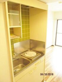 スカイコート淵野辺第3 303号室のキッチン