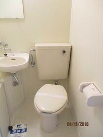スカイコート淵野辺第3 303号室のトイレ