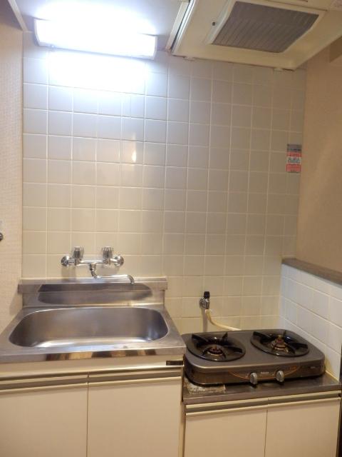 ヴィラ・パンテオン 104号室のキッチン