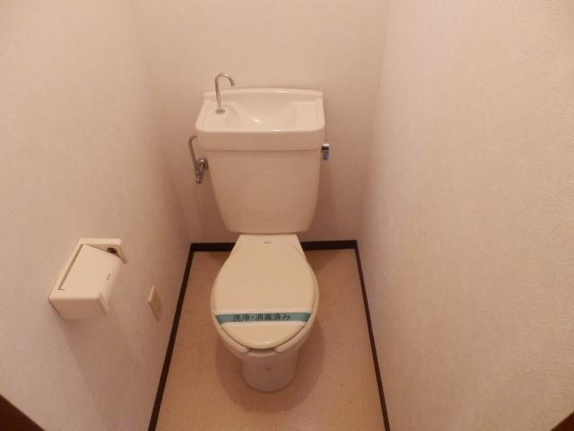 ヴィラ・パンテオン 104号室のトイレ