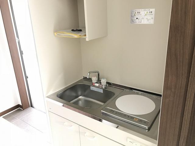 ウェルコーポ星川 203号室のキッチン