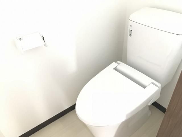 ウェルコーポ星川 203号室のトイレ