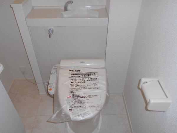 キャッスルビューきざし 102号室のトイレ