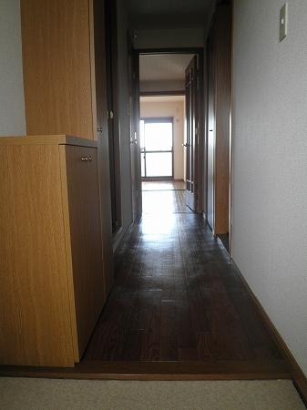 クリスタルウッズ 201号室の玄関