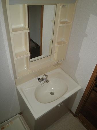 クリスタルウッズ 201号室の洗面所