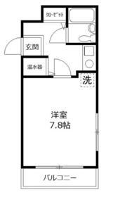 ニューライフ横浜大通り公園 706号室の間取り