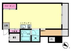 サンライズ福清ビル 303号室の間取り