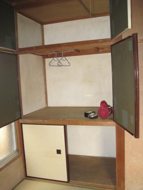 宮崎荘 7号室の収納