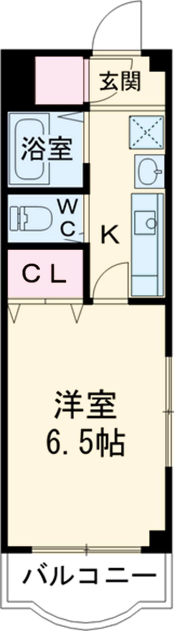 リーヴェルステージ横浜岸根公園・303号室の間取り
