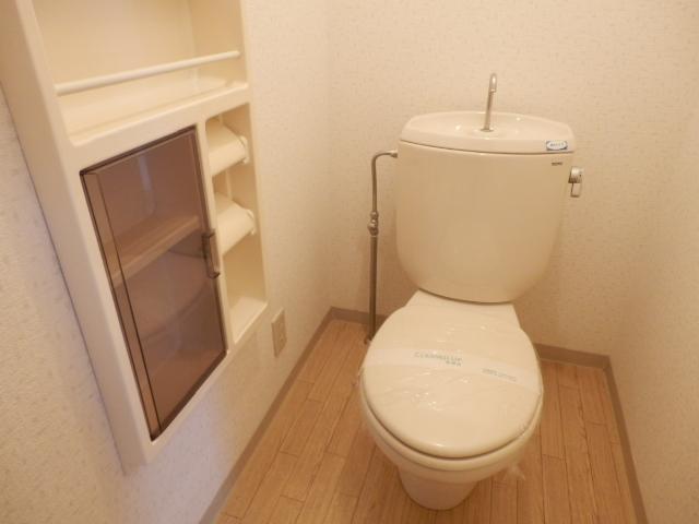 エヴァーグリーン 103号室のトイレ