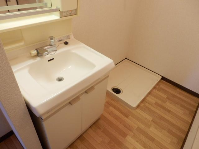 エヴァーグリーン 103号室の洗面所