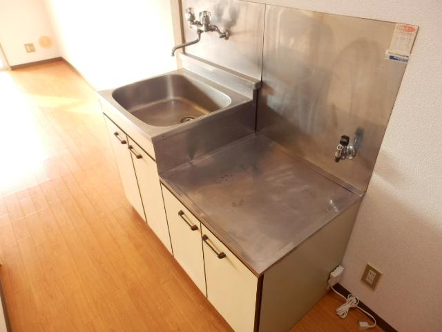 グリーンヒル上田 00205号室のキッチン