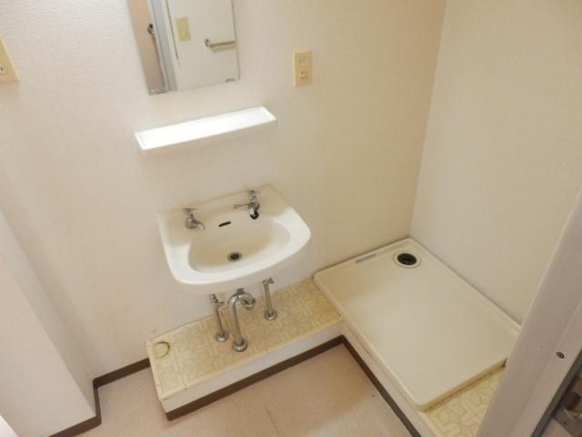 シティハイム沢田 00202号室の洗面所