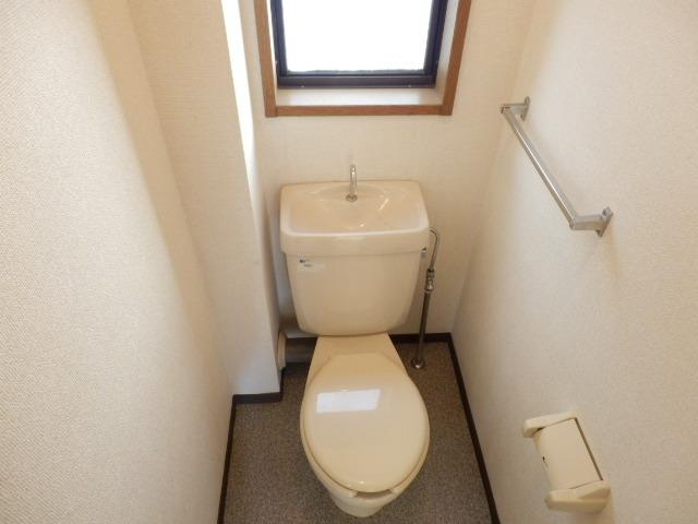 シティハイム沢田 00202号室のトイレ