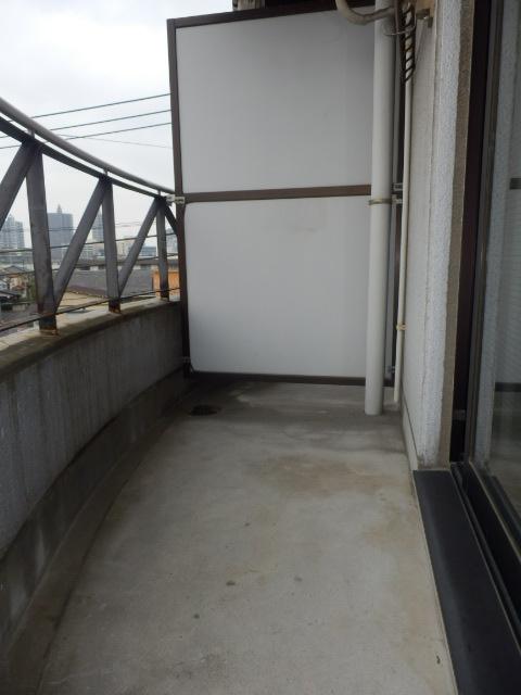 アムハード所沢 00405号室のバルコニー