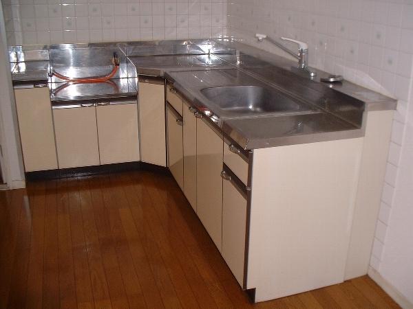 シンセカンドビル 00303号室のキッチン