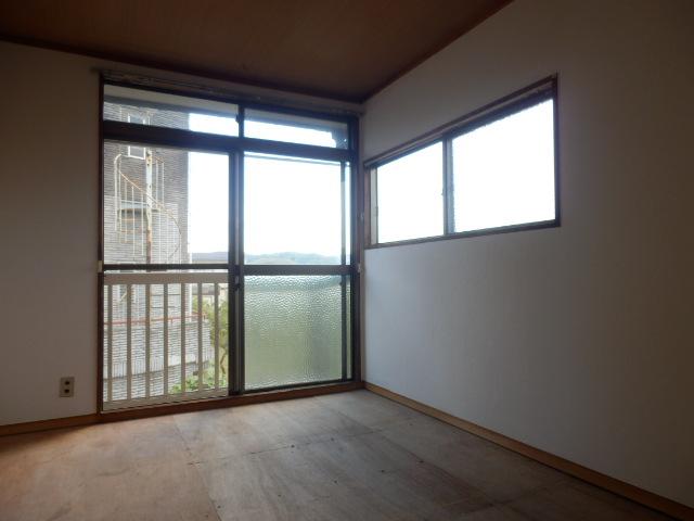 石井荘 00201号室のベッドルーム