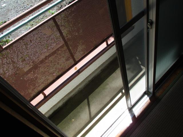 パープルレジデンス 110号室のバルコニー