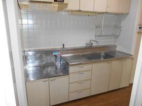 プレジデントミタマ 205号室のキッチン