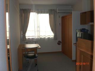 レオパレスコンフォート平松 203号室のベッドルーム
