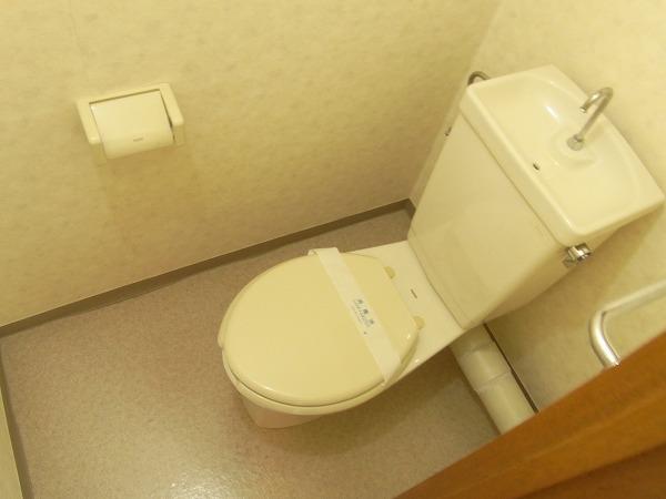ラリーマンション 502号室のトイレ