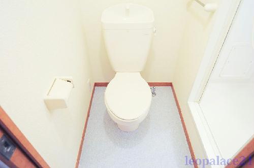 レオパレスコンフォート平松 205号室のトイレ