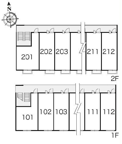 レオパレスプレミール 206号室のその他