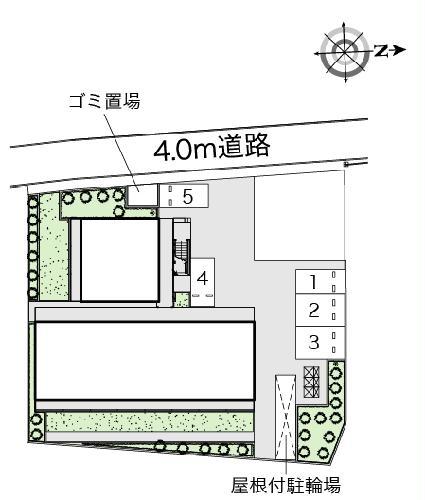 レオパレスレインボーステイツ 207号室の玄関