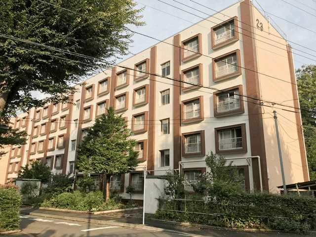 公社久米川駅東住宅23号棟 302号室の外観