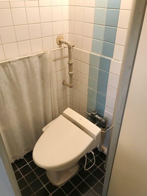 公社久米川駅東住宅23号棟 302号室のトイレ