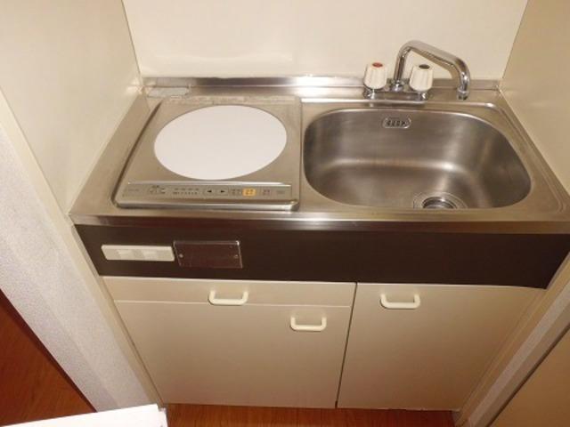 レヂオンス田村 102号室のキッチン