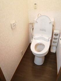 秋桜 103号室のトイレ