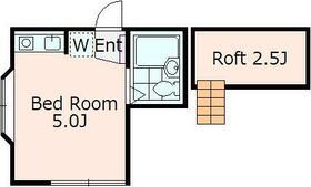 ウィズスペース和ヶ原 B108号室の間取り